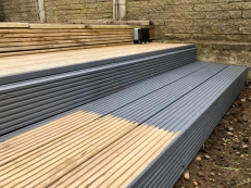 Painting Bromley - Pergola & Decking