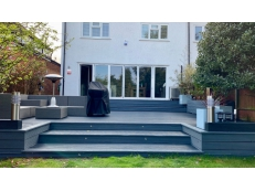Decking West Wickham - Two Tone Grey